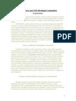 12D- Literatura Aservita Ideologiei Comuniste împărțit