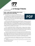 Design of Design Patents - Core 77
