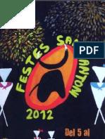 Programa Festes Sant Antoni 2012 PDF