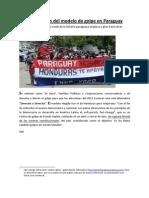 Una explicación del modelo de golpe en Paraguay PDF