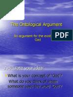 Ontological Argument- Philosophy