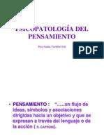 Psicopatologia Pensamiento