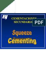 Cementaciones Secundarias - Squeeze UNI