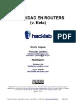 Seguridad en Routers
