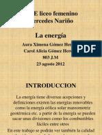 LA ENERGIA . 803 J.M
