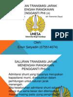 Saluran Transmisi Jarak Menengah Rangk. Pengganti Phi