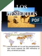 los desiertos expanden