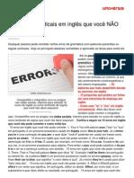 15 Erros Gramaticais Em Ingles Voce No Pode Cometer