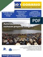 Boletín Diálogo y Consenso  Nº1