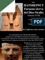 Hatshepsut - Faraona sierva de Amón, el Dios Oculto - Antiguo Egipto