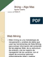 Data Mining – Algo Mas