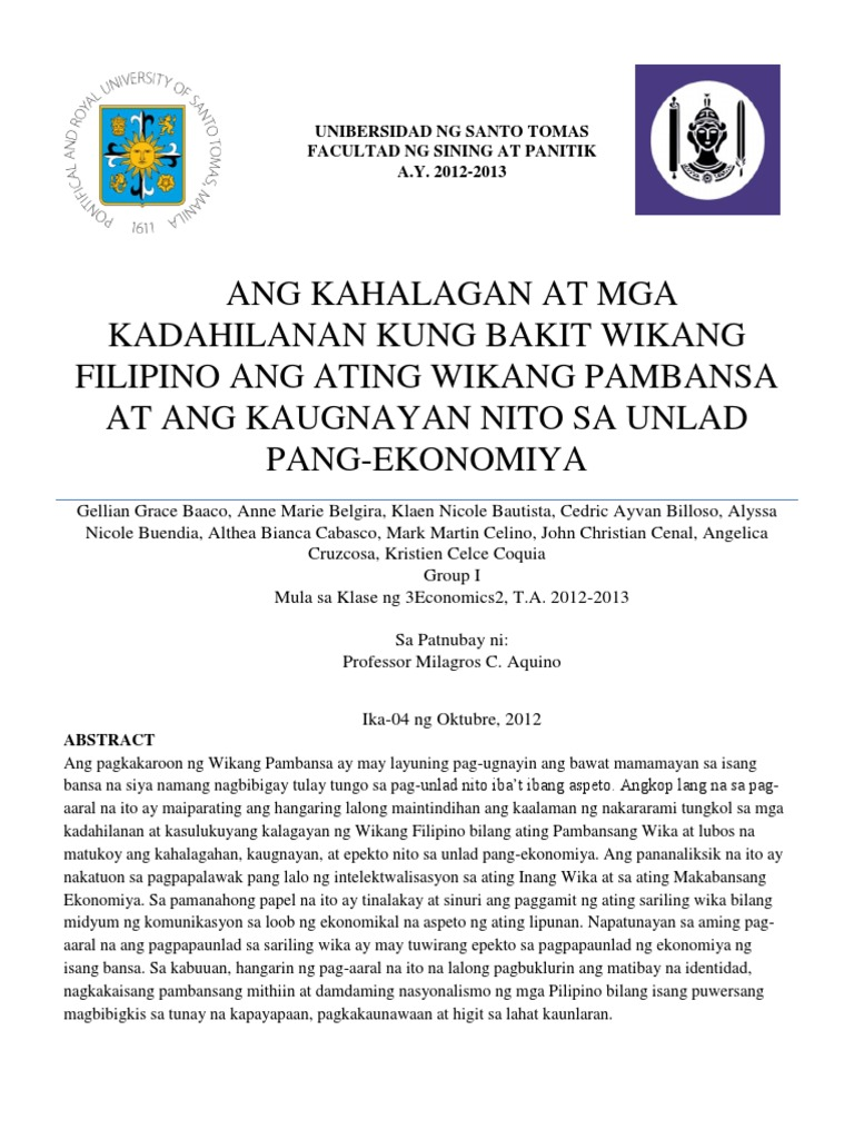 wikang filipino thesis Anonymous 2017-يىل 2-ئۆكتەبىر at pm6:42 #83543 click here click here click here click here click here halimbawa ng thesis sa wikang filipino.