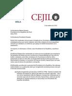Organismos internacionales publican carta abierta al presidente Humala contra indulto a Fujimori
