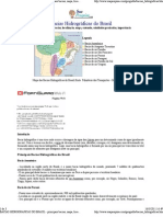 BACIAS HIDROGRÁFICAS DO BRASIL - principais bacias, mapa, localização, rios