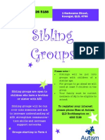 Sibling Group Flyer
