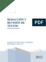 Redacción y Revision de Textos