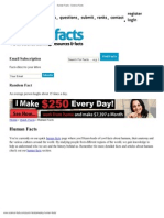 Human Facts - Science Facts