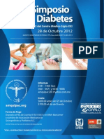 ¨IV Simposio sobre Diabetes¨ 28 de Octubre 2012 AMQUIPAC
