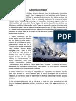 Alimentación Andina - Cultura Andina