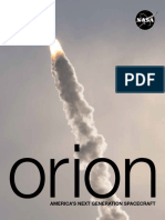 Orion Spacecraft Mission