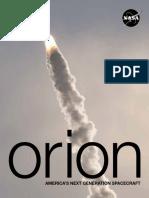 Orion Spacecraft Mission