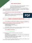 Droit Du Travail - Chap 1