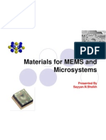 Materials for MEMS and Microsystems -By Sayyan