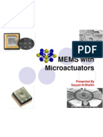 MEMS with Microactuators -By Sayyan