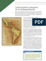 Latinoamérica despues de la Independencia