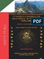 7mo Congreso Mundial de Terapias Cognitivas y Comportamentales