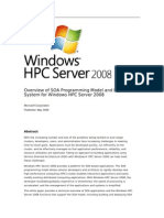 Overview of SOA for Windows HPC Server 2008