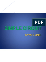 Open Gl Project PPt on Simple Circuit Bulb