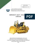 1 Merawat Unit Machine Harian(Alat Berat)