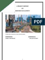 A Project Report on Debtors Managment