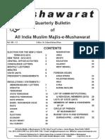Quarterly Mushawarat Bulletin Jan-Jun 2012