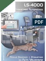 DIBAL - Catálogo de Sistemas de Pesaje y Etiquetado Automático LS-4000