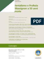 MASSIGNON Locandina - 31 Ottobre