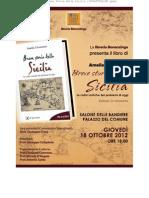 Breve Storia Della Sicilia 18 ottobre