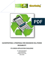 CleverTexting a Green Technology