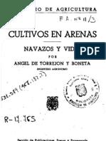 Cultivos en Arenas, Navazos y Vides por Angel Torrejon Boneta (1941)