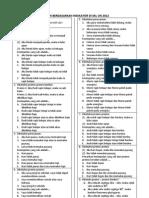 Soal Un Berdasarkan Indikator Di Skl Un Program IPA tahun 2012