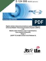 24008-990 Mobile Radio Interface Layer 3 Specification - Core Network Protocols