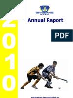 BHA Inc Annual Report - 2010
