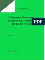 Assignment 1 Report 1 Team Workingl