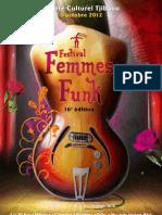 Le programme de Femmes funk family 2012