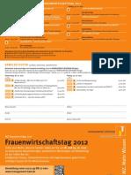 Frauenwirtschaftstag Social Media Vortrag 2012