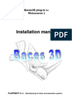Plug-In Baces3D for Rhino3 Installation