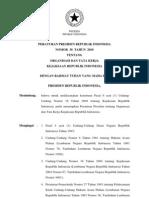 2010-Perpres No 38 Th 2010 Ttg Organisasi Dan Tata Kerja Kejaksaan Republik Indonesia