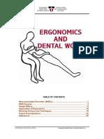Ergonomics and Dental Work
