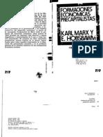 Hobsbawm, E. y Marx, K. - Formaciones económicas precapitalistas [10ª ed., Pasado y Presente, 1982]